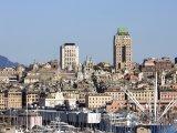 Pohled na město Janov