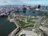Pohled na město z mrakodrapu