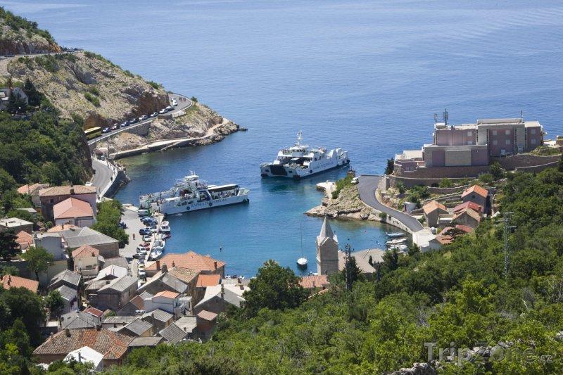Fotka, Foto Pohled na přístav Jablanac (Rab, Chorvatsko)