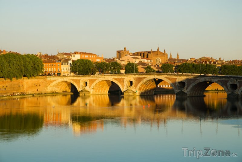 Fotka, Foto Pont Neuf v Toulouse (Francie)