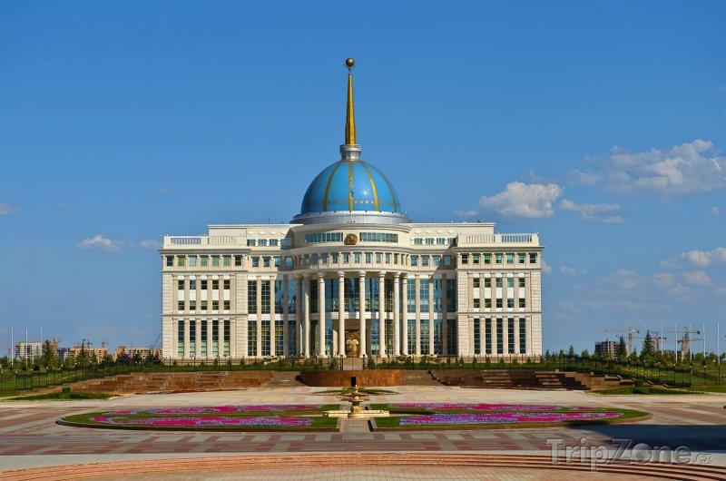 Fotka, Foto Prezidentský palác Ak Orda v Astaně (Kazachstán)