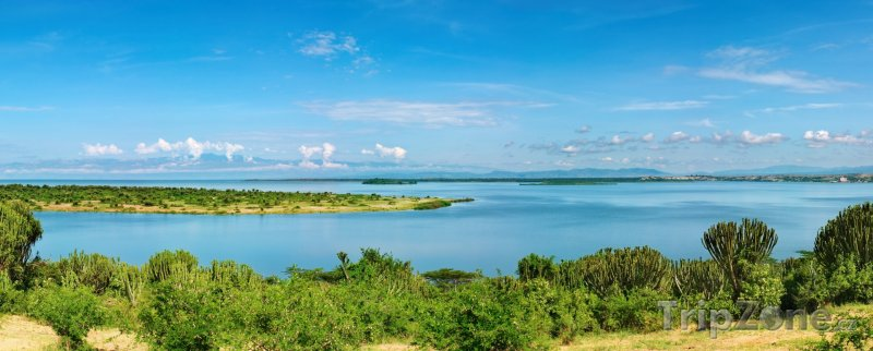 Fotka, Foto Přírodní vodní kanál Kazinga (Uganda)