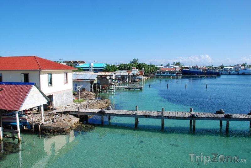 Fotka, Foto Přístav ostrova Útila (Honduras)