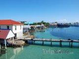 Přístav ostrova Útila