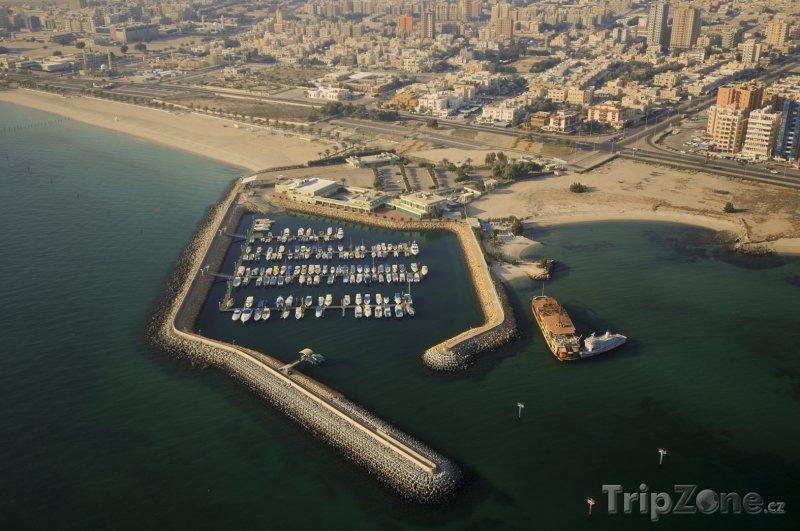 Fotka, Foto Přístav pro jachty v Kuvajtu (Kuvajt)