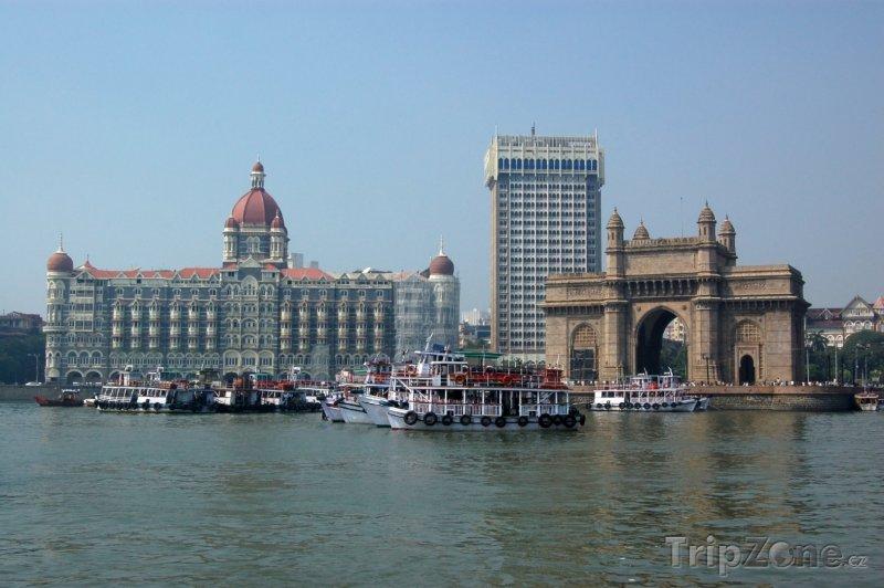 Fotka, Foto Přístav v Bombaji (Indie)