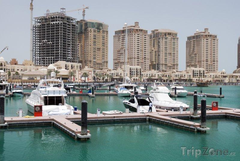 Fotka, Foto Přístav v Dauhá (Katar)