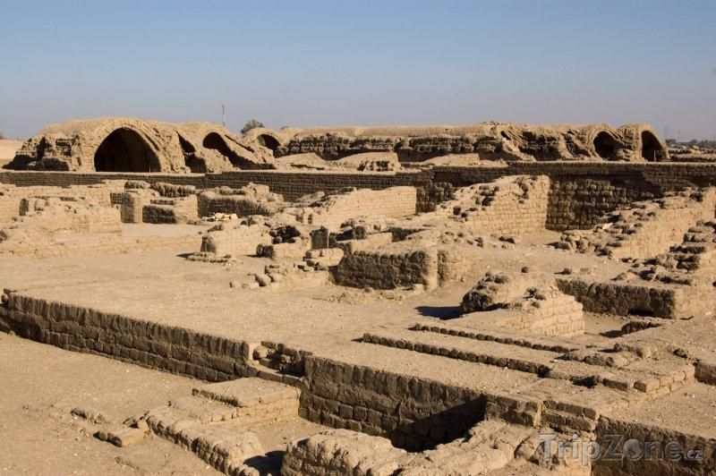 Fotka, Foto Ramesseum (Luxor, Egypt)