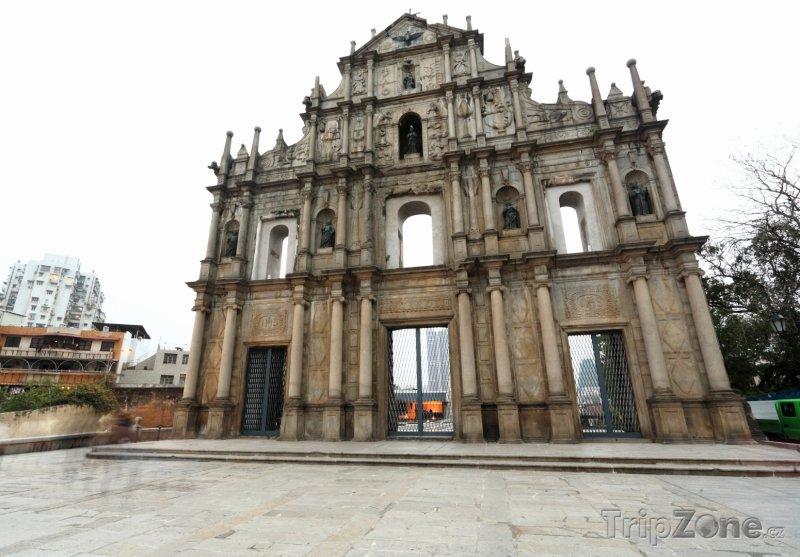 Fotka, Foto Ruiny katedrály Sv. Pavla (Macao)