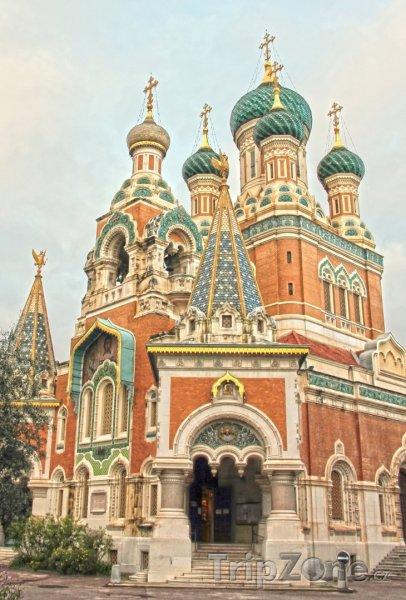 Fotka, Foto Ruská katedrála v Nice (Nice, Francie)