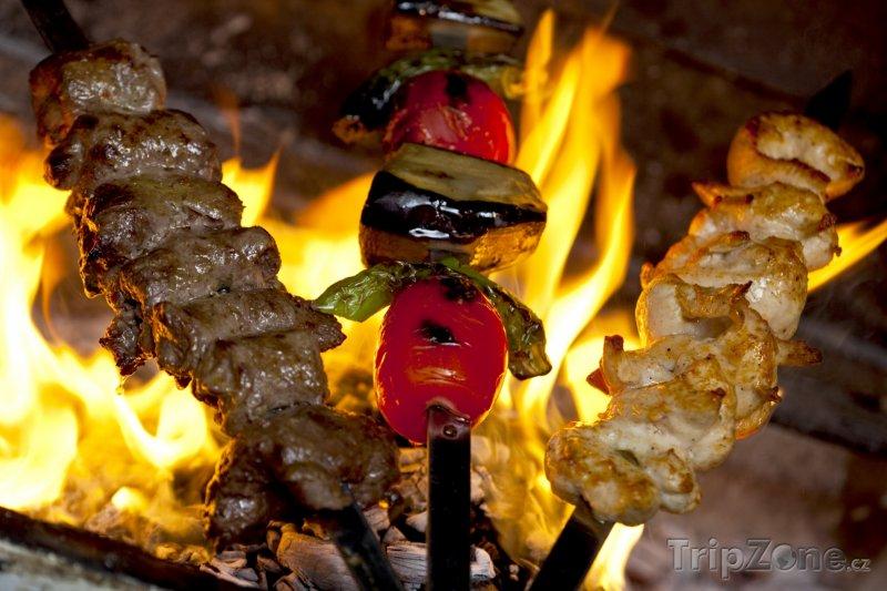 Fotka, Foto Šašlik, oblíbené špízy na grilu (Ázerbájdžán)