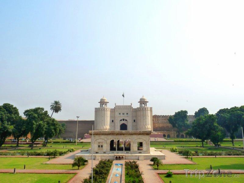 Fotka, Foto Shahi Qilla, pevnost ve městě Láhaur (Pákistán)