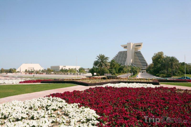 Fotka, Foto Sheraton Hotel Resort v Dauhá (Katar)