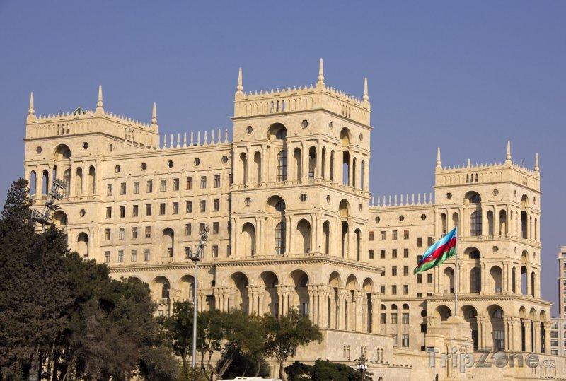 Fotka, Foto Sídlo vlády v Baku (Ázerbájdžán)