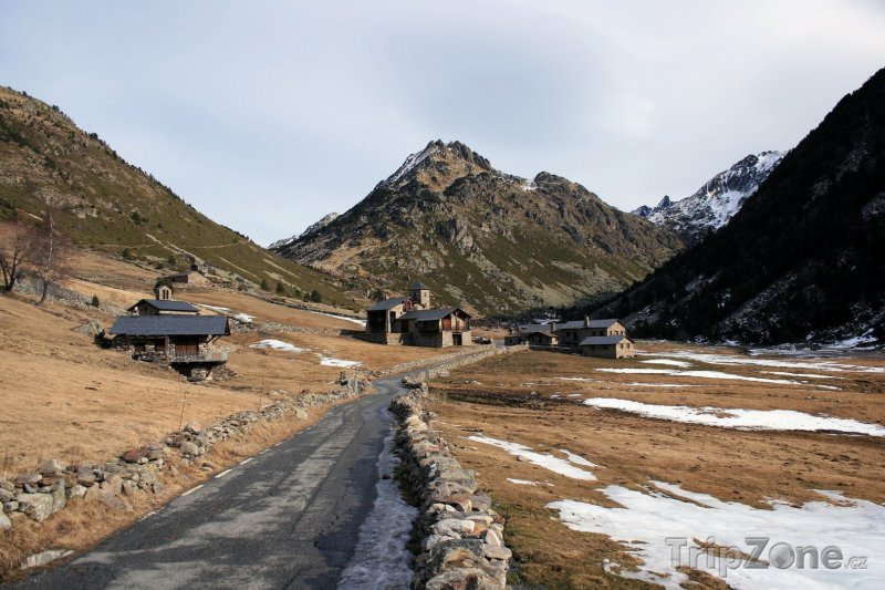 Fotka, Foto Silnice v Pyrenejích (Andorra)