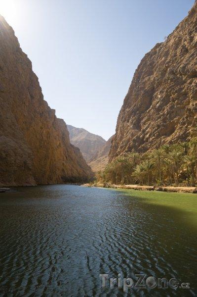 Fotka, Foto Skalní údolí Shaab (Omán)