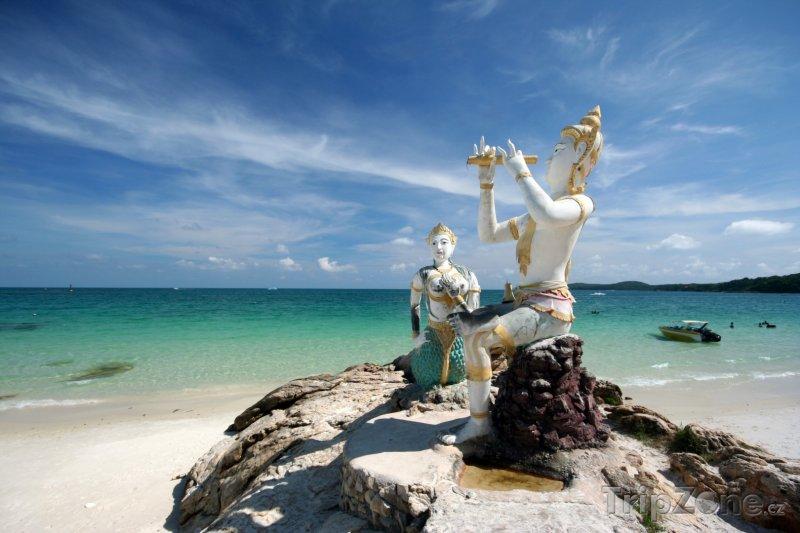 Fotka, Foto Sošky na pláži Sai Kaew (Phuket, Thajsko)