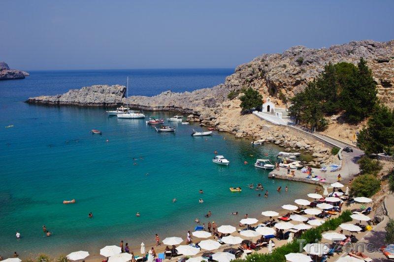 Fotka, Foto St. Pauls Bay (Líndos, Řecko)