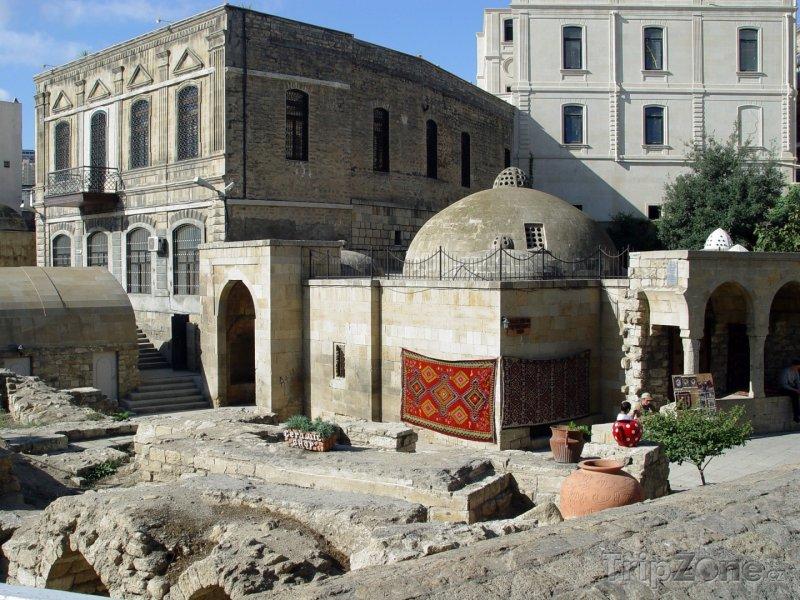 Fotka, Foto Stará část města Baku (Ázerbájdžán)