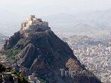 Stará pevnost nad městem Taiz