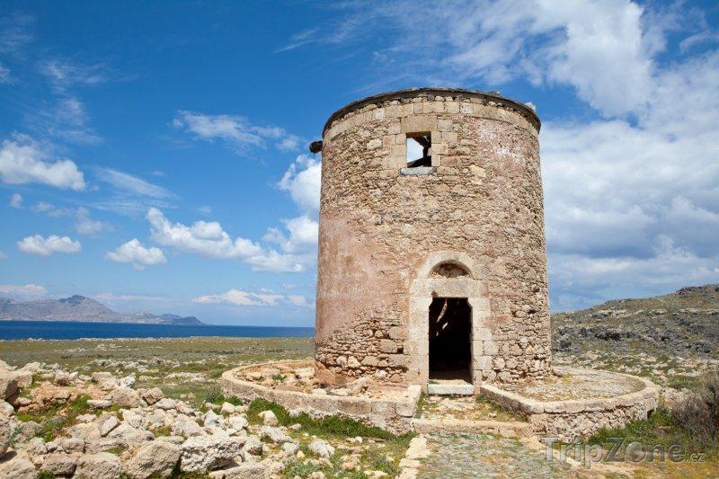 Fotka, Foto Starý mlýn (Líndos, Řecko)