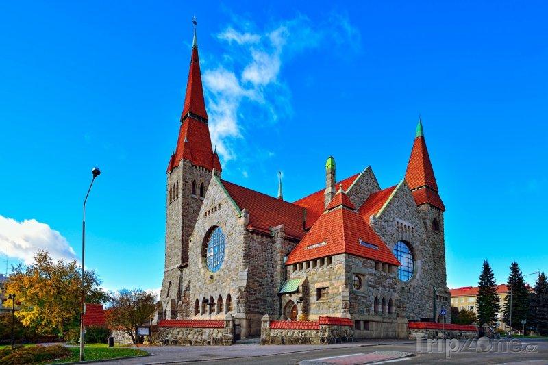 Fotka, Foto Tamperská katedrála (Finsko)