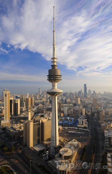 Fotka, Foto Telekomunikační věž (Kuvajt)