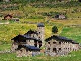 Typická architektura Andorry