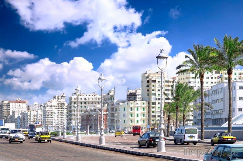 Fotka, Foto Ulice v centru města (Alexandrie, Egypt)
