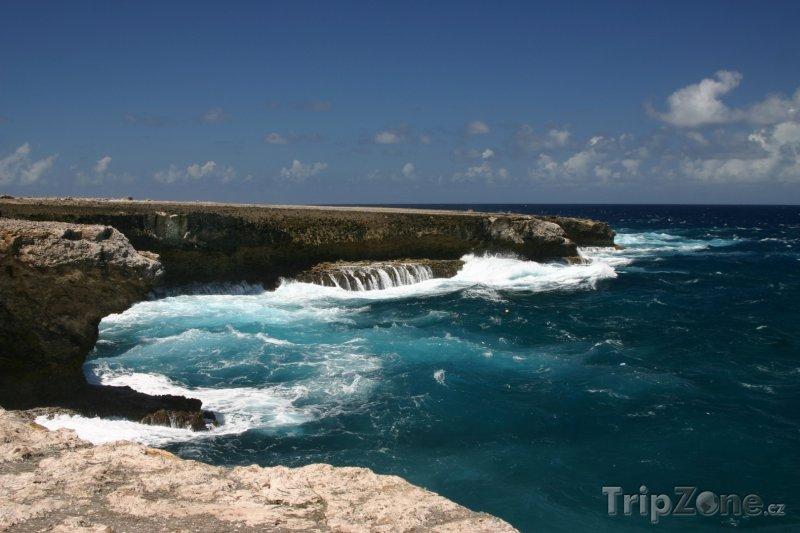 Fotka, Foto Útesy na pobřeží (Bonaire)