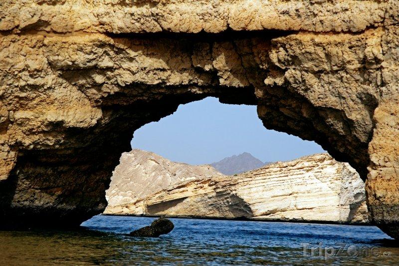 Fotka, Foto Útesy v oblasti Qantab (Omán)