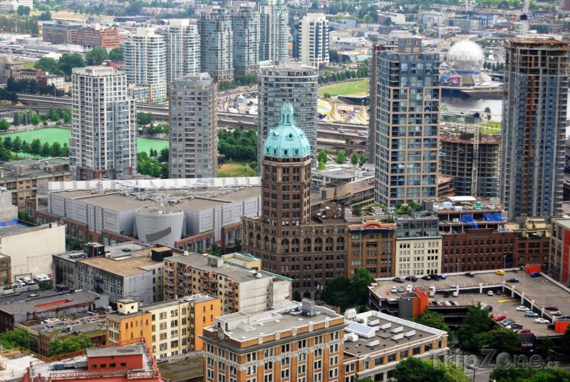 Fotka, Foto Vancouver panorama (Kanada)