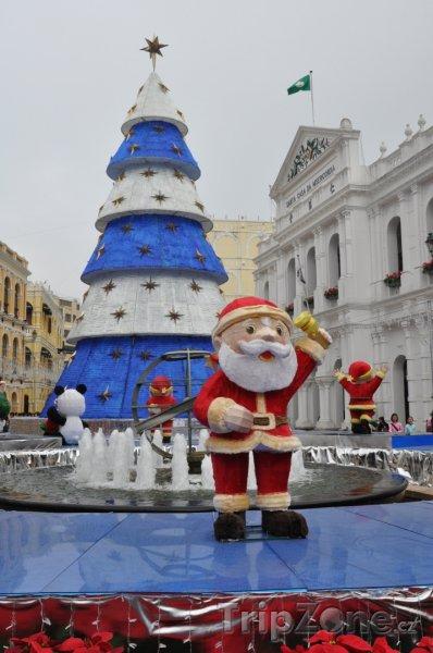 Fotka, Foto Vánoce v Macau (Macao)