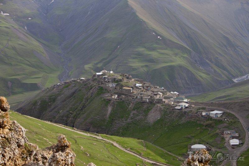 Fotka, Foto Vesnička Khinalug (Ázerbájdžán)