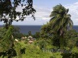 Vesnička na ostrově Ometepe