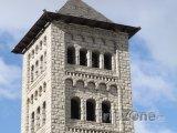 Věž kostela v Les Escaldes