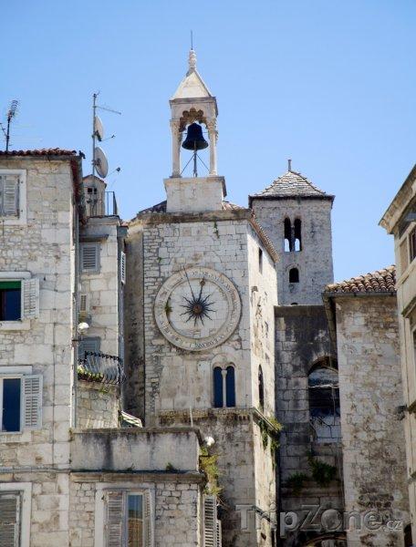 Fotka, Foto Věž s hodinami (Split, Chorvatsko)