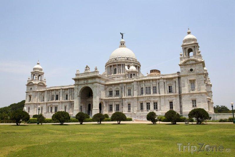 Fotka, Foto Victoriin památník v Kalkatě (Indie)