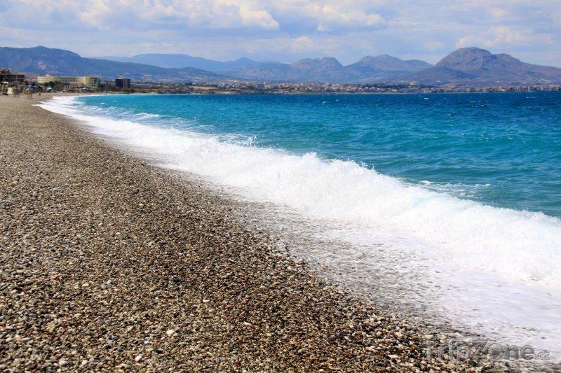 Fotka, Foto Vlny na pobřeží (Samos, Řecko)