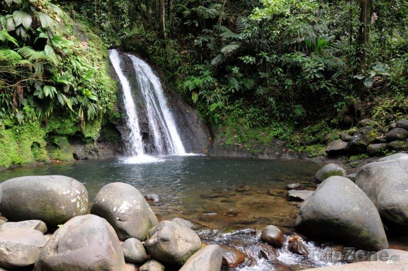 Fotka, Foto Vodopád Carbet Falls (Guadeloupe)