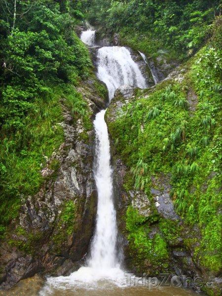 Fotka, Foto Vodopád Dona Juana (Portoriko)