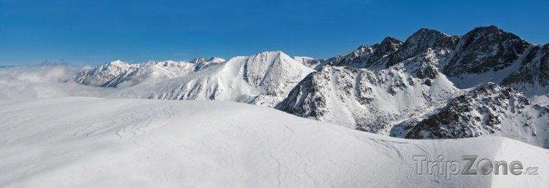 Fotka, Foto Vrcholky Pyrenejí (Andorra)