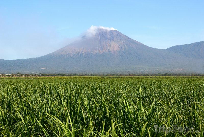 Fotka, Foto Vulkán San Cristóbal (Nikaragua)