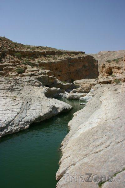 Fotka, Foto Wadi Bani Khalid, řeka (Omán)