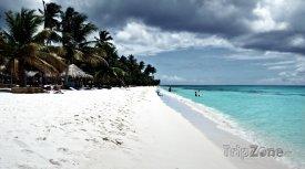 West Bay Beach na ostrově Roatán