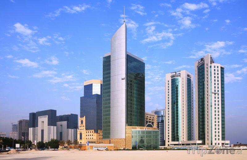 Fotka, Foto West Bay, obchodní centrum v Dauhá (Katar)