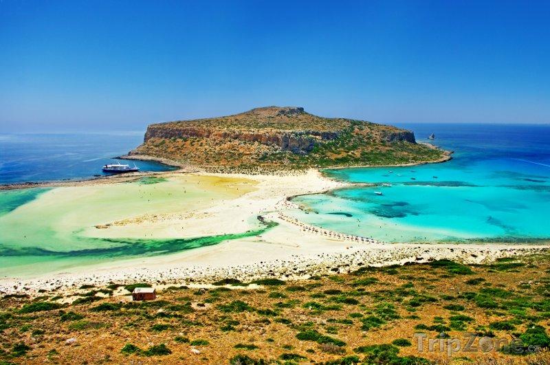 Fotka, Foto Zátoka Balos na Krétě (Kréta, Řecko)