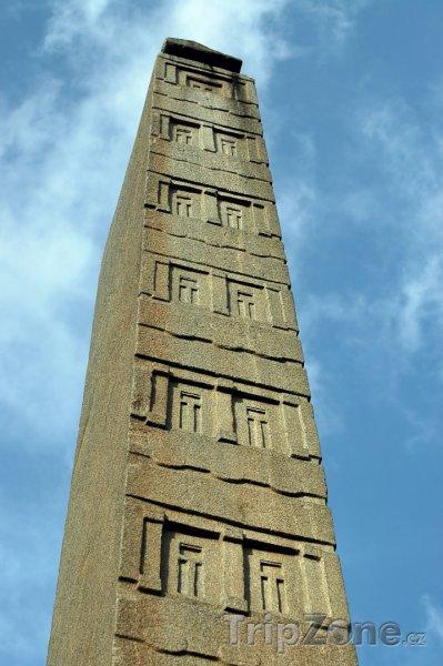 Fotka, Foto Aksúmský obelisk ve městě Aksúm (Etiopie)