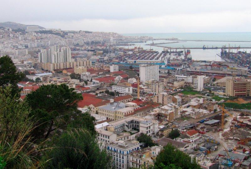 Fotka, Foto Alžír, panorama města (Alžírsko)