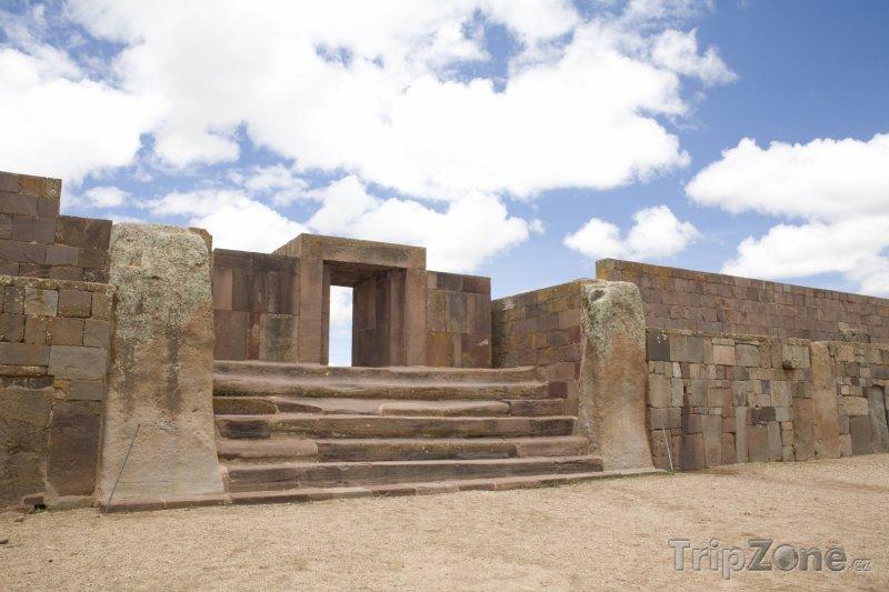 Fotka, Foto Archeologická památka Tiwanaku (Bolívie)
